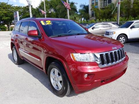2012 Jeep Grand Cherokee for sale at Brascar Auto Sales in Pompano Beach FL