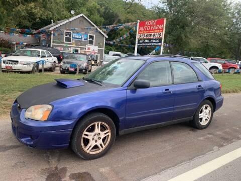 2004 Subaru Impreza for sale at Korz Auto Farm in Kansas City KS