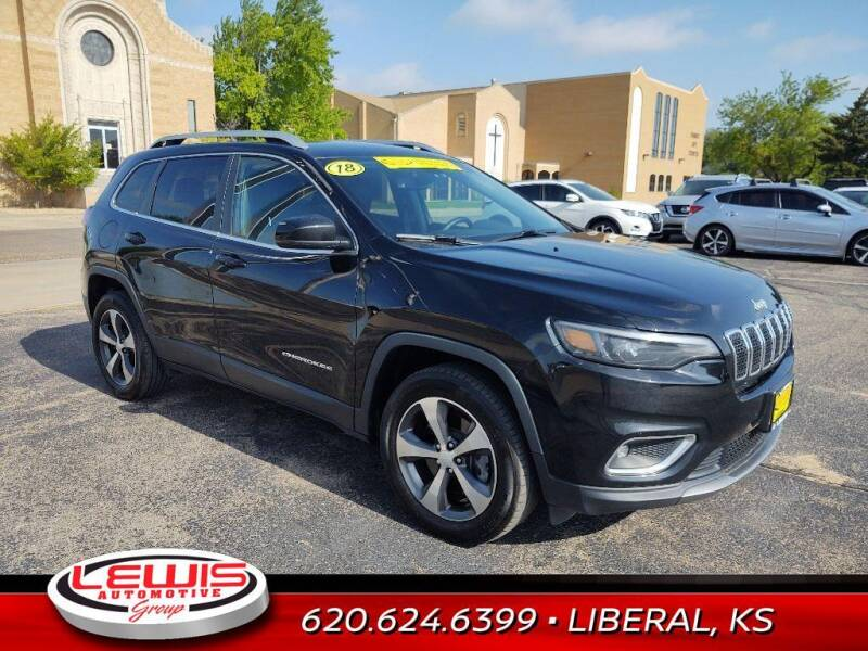 2019 Jeep Cherokee for sale at Lewis Chevrolet Buick of Liberal in Liberal KS