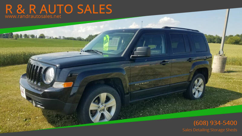 2012 Jeep Patriot for sale at R & R AUTO SALES in Juda WI