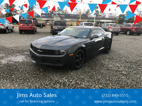 2013 Chevrolet Camaro for sale at Jims Auto Sales in Lakehurst NJ