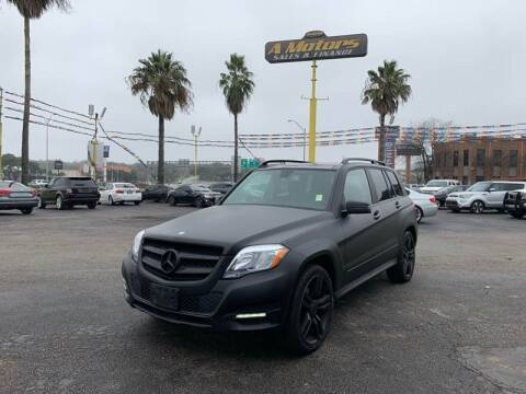 2013 Mercedes-Benz GLK for sale at A MOTORS SALES AND FINANCE - 5630 San Pedro Ave in San Antonio TX