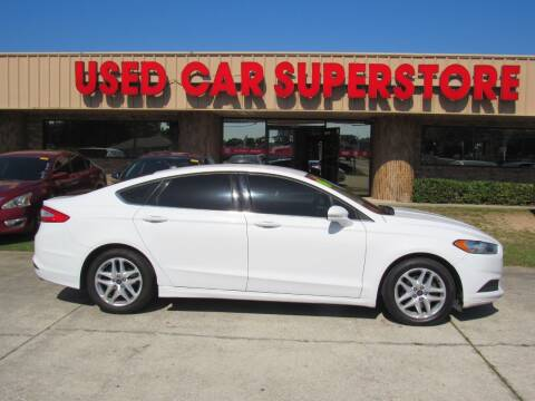 2014 Ford Fusion for sale at Checkered Flag Auto Sales NORTH in Lakeland FL