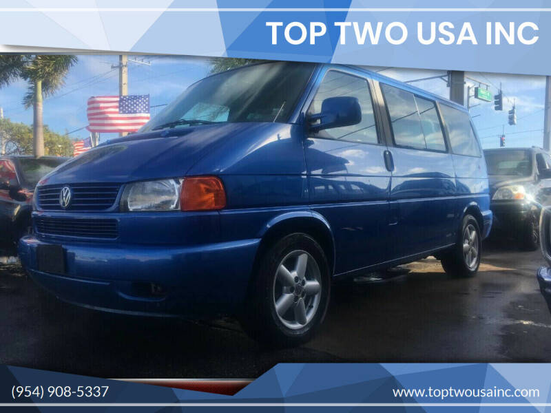 2003 Volkswagen EuroVan for sale at TOP TWO USA INC in Oakland Park FL