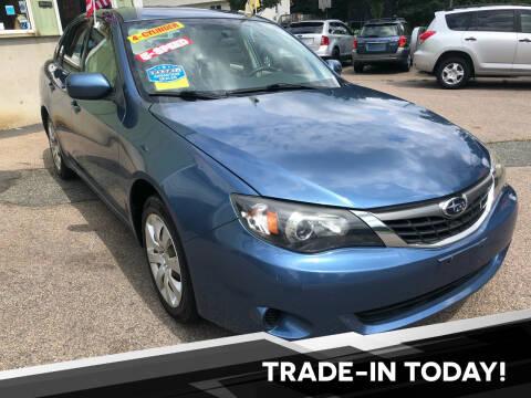 2009 Subaru Impreza for sale at L A Used Cars in Abington MA