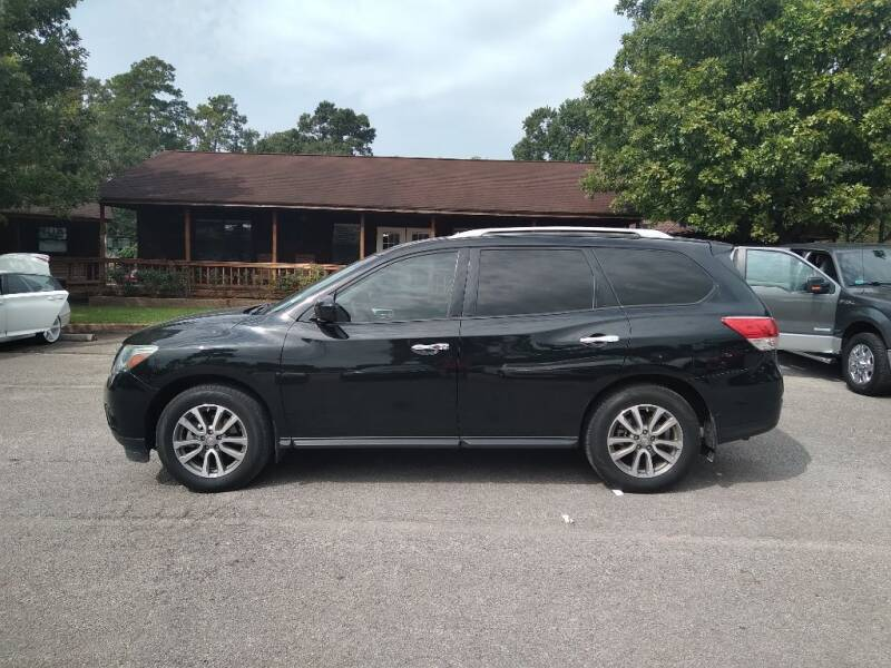 2015 Nissan Pathfinder for sale at Victory Motor Company in Conroe TX