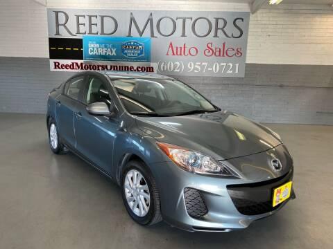 2012 Mazda MAZDA3 for sale at REED MOTORS LLC in Phoenix AZ