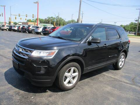 2018 Ford Explorer for sale at Windsor Auto Sales in Loves Park IL