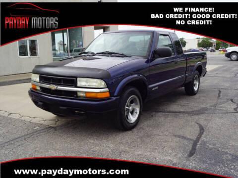 2002 Chevrolet S-10 for sale at Payday Motors in Wichita KS