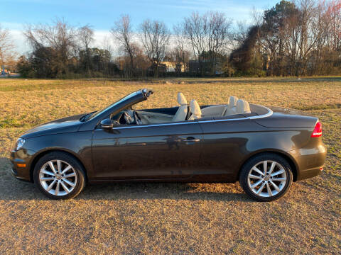 2012 Volkswagen Eos for sale at East Coast Auto Sales llc in Virginia Beach VA