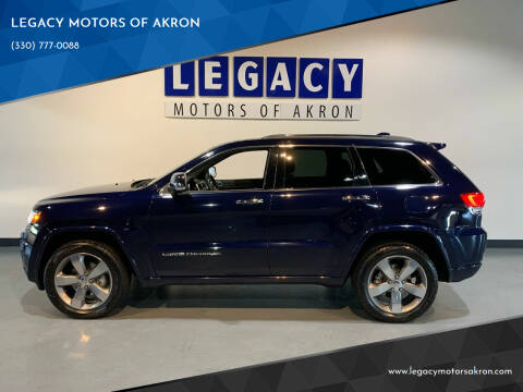 2014 Jeep Grand Cherokee for sale at LEGACY MOTORS OF AKRON in Akron OH