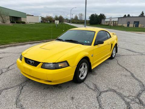 2004 Ford Mustang for sale at JE Autoworks LLC in Willoughby OH