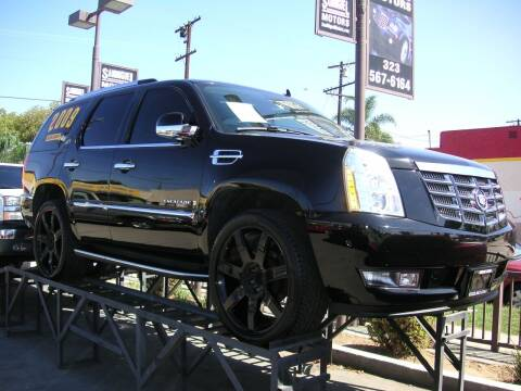 2009 Cadillac Escalade for sale at Sanmiguel Motors in South Gate CA