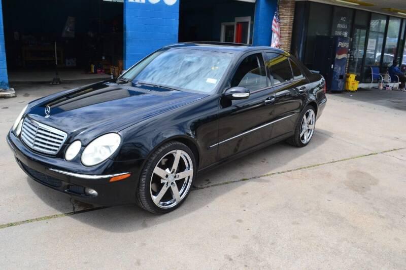 2006 Mercedes-Benz E-Class for sale at Preferable Auto LLC in Houston TX