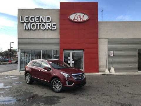 2017 Cadillac XT5 for sale at Legend Motors of Waterford - Legend Motors of Ferndale in Ferndale MI