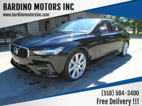 2020 Volvo S90 for sale at BARDINO MOTORS INC in Saratoga Springs NY