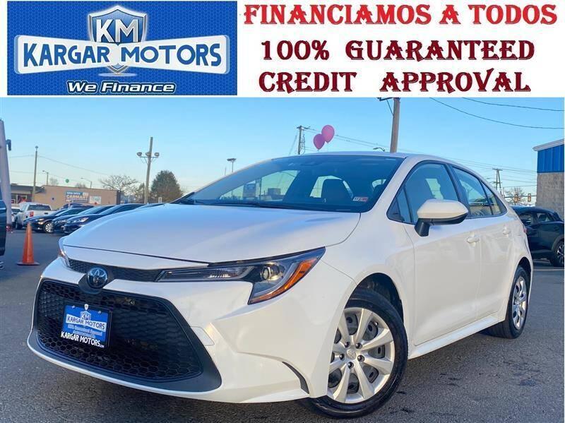 2020 Toyota Corolla for sale at Kargar Motors of Manassas in Manassas VA