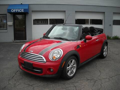 2012 MINI Cooper Convertible for sale at Best Wheels Imports in Johnston RI