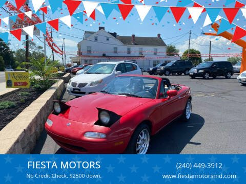 1997 Mazda MX-5 Miata for sale at FIESTA MOTORS in Hagerstown MD