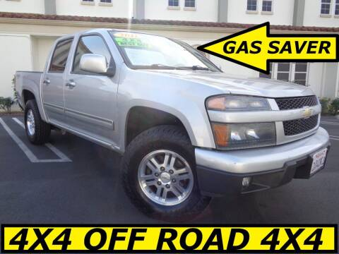 2011 Chevrolet Colorado for sale at ALL STAR TRUCKS INC in Los Angeles CA