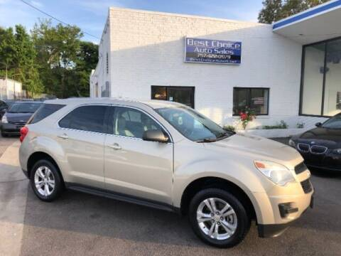 2011 Chevrolet Equinox for sale at Best Choice Auto Sales in Virginia Beach VA