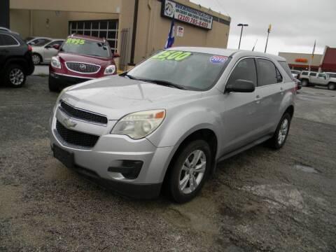 2012 Chevrolet Equinox for sale at Meridian Auto Sales in San Antonio TX