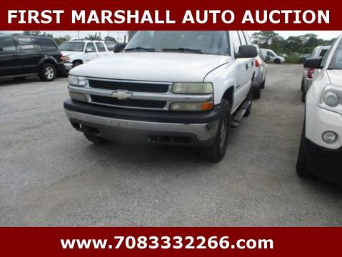2003 Chevrolet Tahoe for sale at First Marshall Auto Auction in Harvey IL