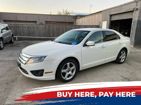 2011 Ford Fusion for sale at Shooters Auto Sales in Fort Worth TX