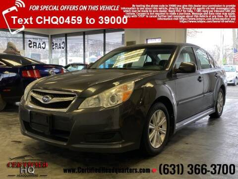 2012 Subaru Legacy for sale at CERTIFIED HEADQUARTERS in St James NY