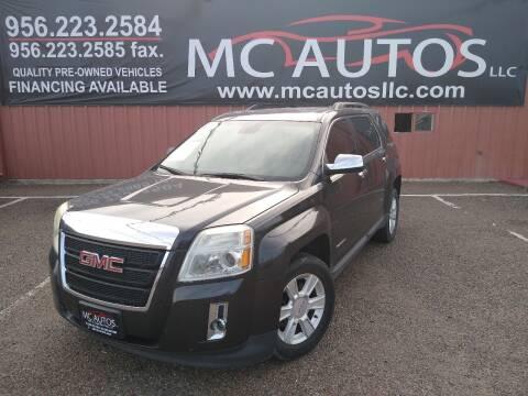 2013 GMC Terrain for sale at MC Autos LLC in Pharr TX