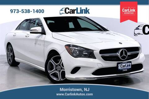2018 Mercedes-Benz CLA for sale at CarLink in Morristown NJ
