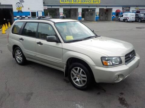 2005 Subaru Forester for sale at RTE 123 Village Auto Sales Inc. in Attleboro MA