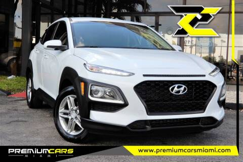 2018 Hyundai Kona for sale at Premium Cars of Miami in Miami FL