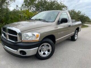 2006 Dodge Ram Pickup 1500 for sale at Deerfield Automall in Deerfield Beach FL