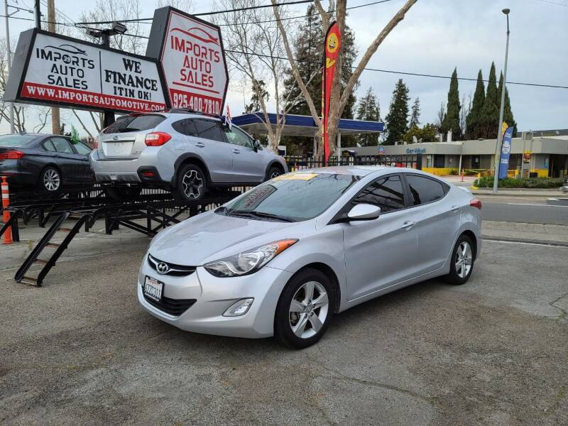 2013 Hyundai Elantra for sale at Imports Auto Sales & Service in San Leandro CA