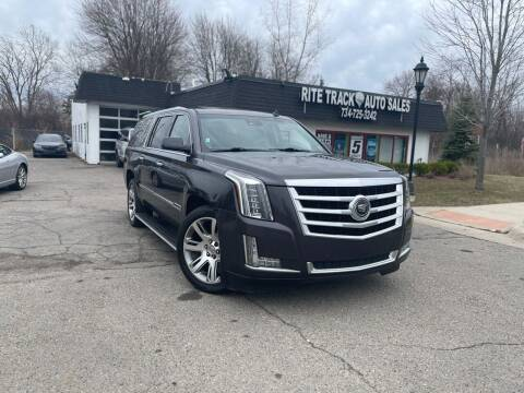 2015 Cadillac Escalade ESV for sale at Rite Track Auto Sales in Canton MI
