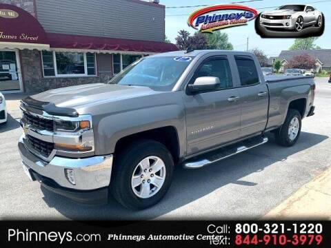 2017 Chevrolet Silverado 1500 for sale at Phinney's Automotive Center in Clayton NY