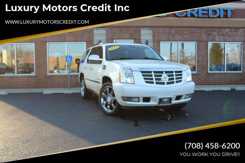 2013 Cadillac Escalade Hybrid for sale at Luxury Motors Credit Inc in Bridgeview IL