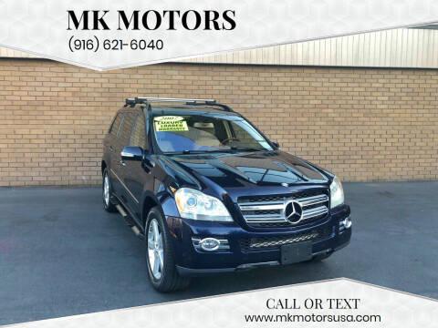 2007 Mercedes-Benz GL-Class for sale at MK Motors in Sacramento CA