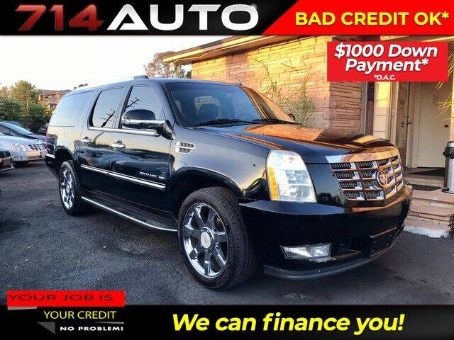 2011 Cadillac Escalade ESV for sale at 714 Auto in Orange CA