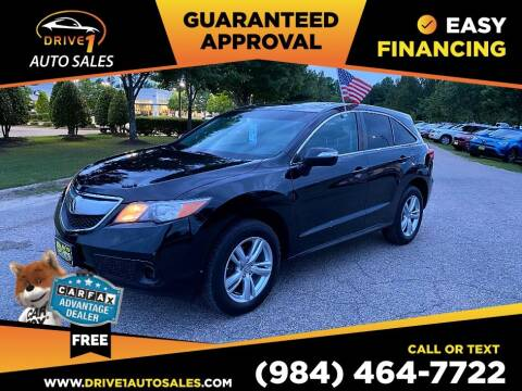 2014 Acura RDX for sale at Drive 1 Auto Sales in Wake Forest NC