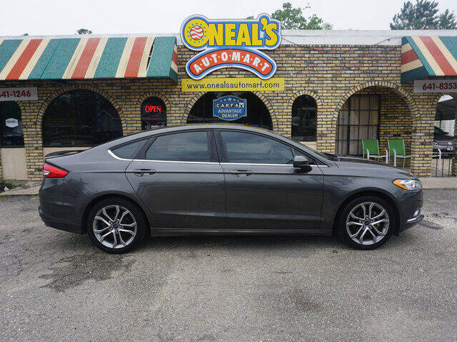 2017 Ford Fusion for sale at Oneal's Automart LLC in Slidell LA