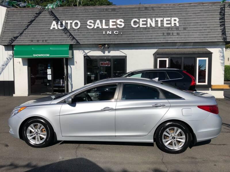 2012 Hyundai Sonata for sale at Auto Sales Center Inc in Holyoke MA