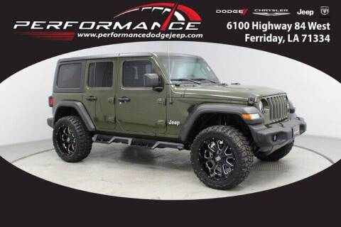 2021 Jeep Wrangler Unlimited for sale at Performance Dodge Chrysler Jeep in Ferriday LA