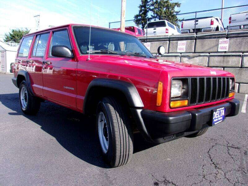 2000 Jeep Cherokee for sale at Delta Auto Sales in Milwaukie OR