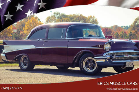 1957 Chevrolet 210 for sale at Erics Muscle Cars in Clarksburg MD