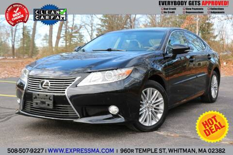 2013 Lexus ES 350 for sale at Auto Sales Express in Whitman MA