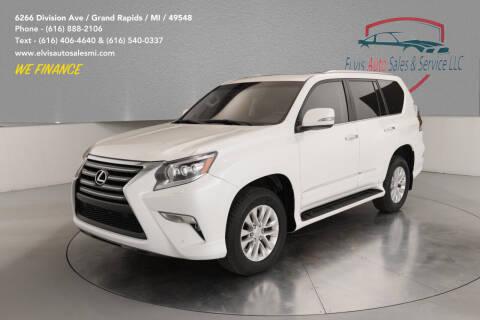 2015 Lexus GX 460 for sale at Elvis Auto Sales LLC in Grand Rapids MI