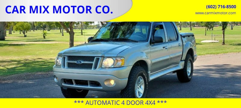 2005 Ford Explorer Sport Trac for sale at CAR MIX MOTOR CO. in Phoenix AZ