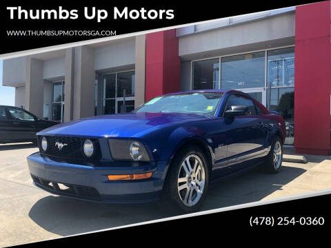 2005 Ford Mustang for sale at Thumbs Up Motors in Warner Robins GA